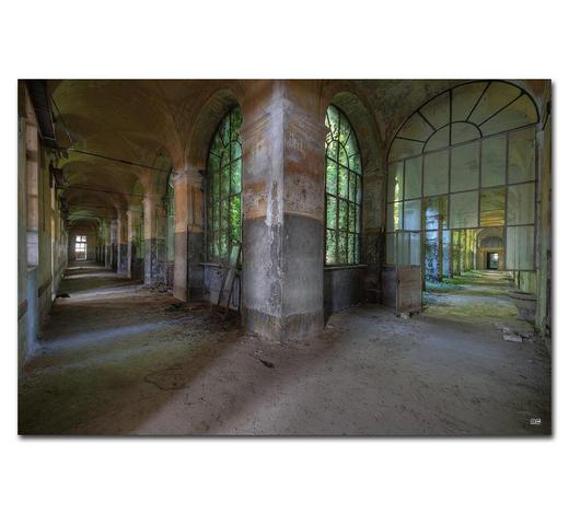 "Architektur BILD ""ONLY THE LONELY LOVE""  - Multicolor, Basics, Holzwerkstoff/Kunststoff (75/50cm) - Wiedemann"
