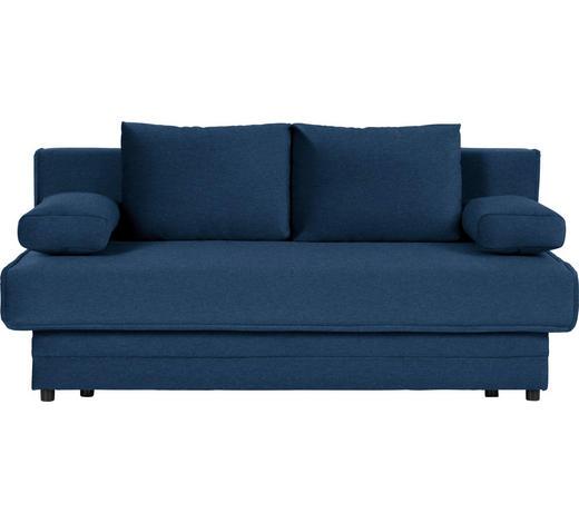 SCHLAFSOFA in Textil Blau  - Blau, Design, Textil (200/90/100cm) - Novel