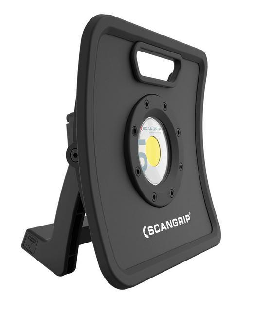 LED-ARBEITSLEUCHTE NOVA 5K - Schwarz, KONVENTIONELL, Metall (8,7/26,7/26,2cm)
