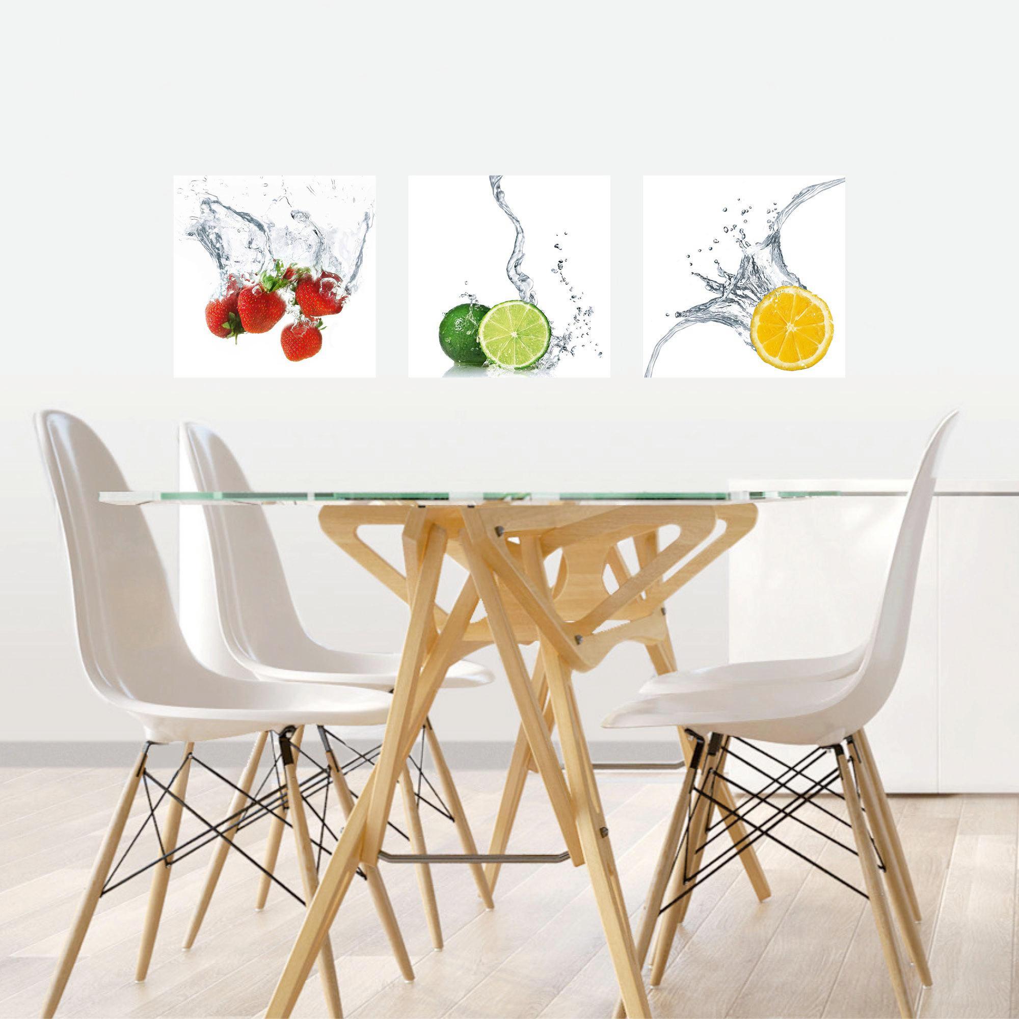 Essen & Trinken, Obst DEKOSTICKER - Multicolor, Basics, Kunststoff (30/30cm) - EUROGRAPHICS