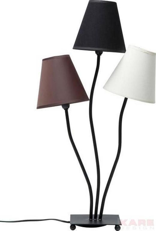 TISCHLEUCHTE - Multicolor/Schwarz, Design, Textil/Metall (40/67/16cm) - KARE-Design