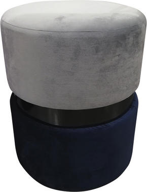 PALL - ljusblå/svart, Design, metall/trä (35/46cm) - Ambia Home