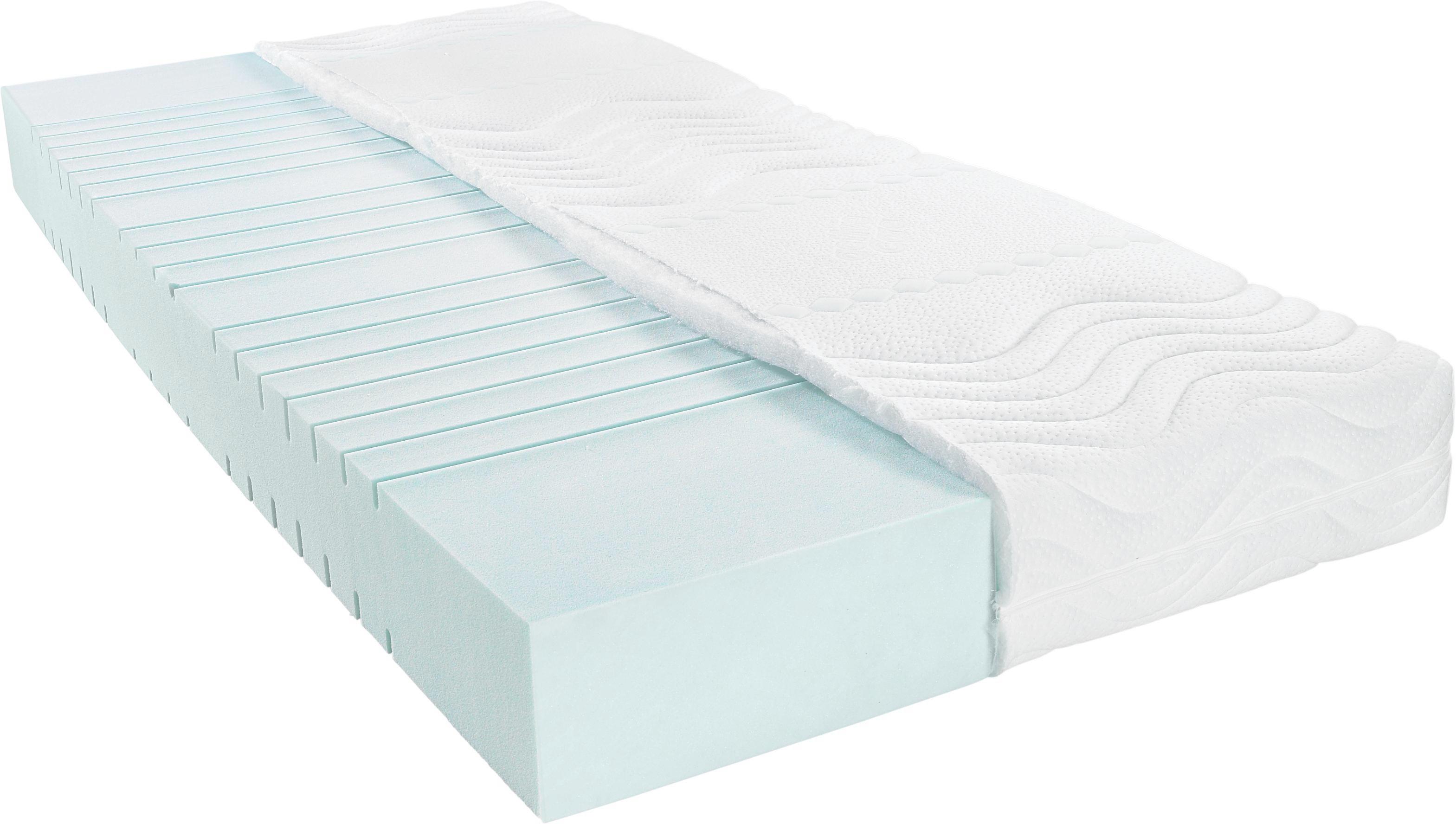 Bultexkern MATRATZE 90/200 Cm   Weiß, Basics, Textil (90/200cm