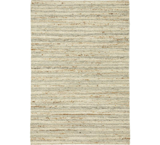Handwebteppich 60/110 cm  - Natur, Textil (60/110cm) - Linea Natura