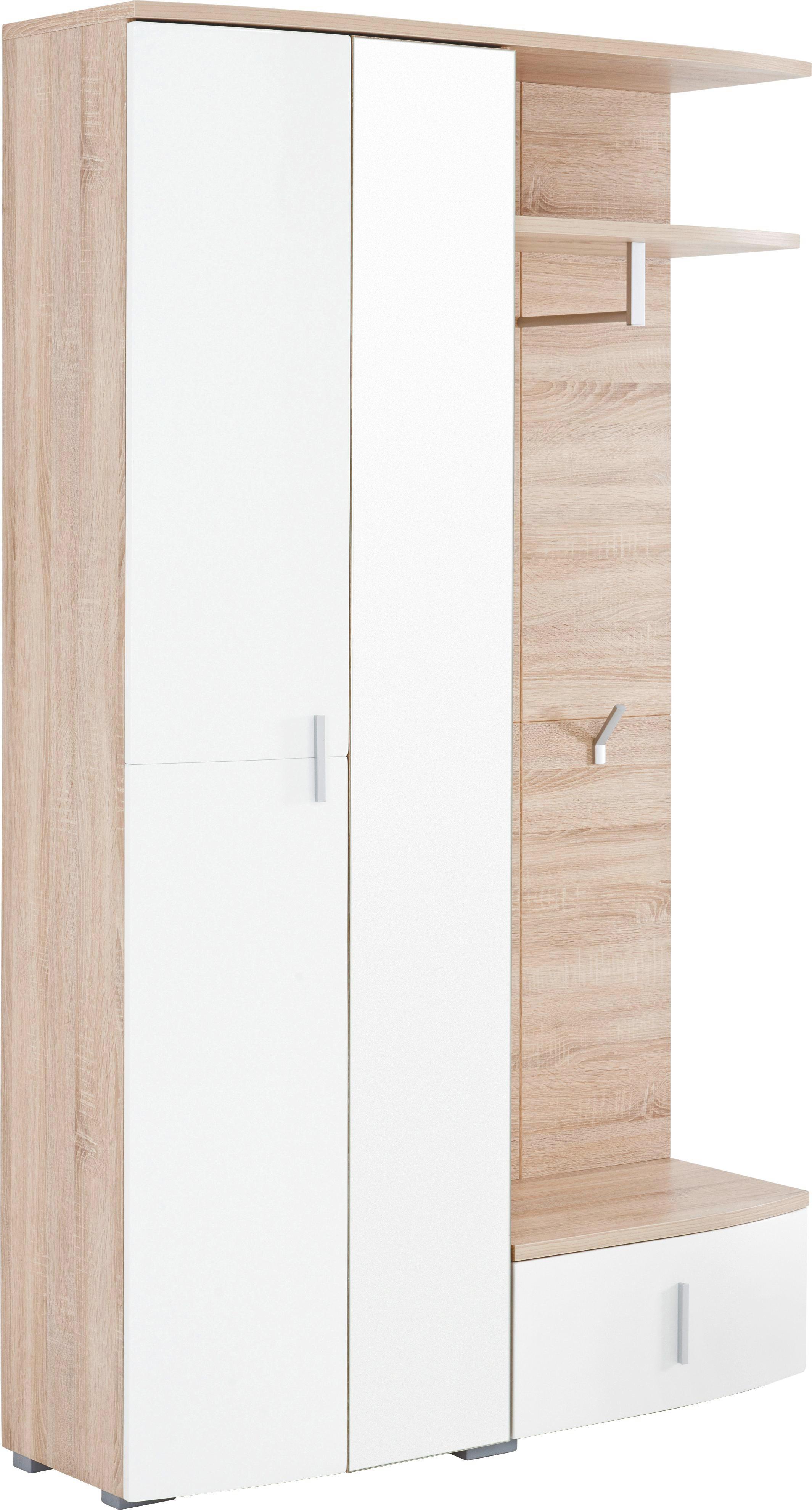 Wundervoll Eckschrank Garderobe Galerie Von Simple Sonoma Eiche Wei Weisonoma Eiche Design
