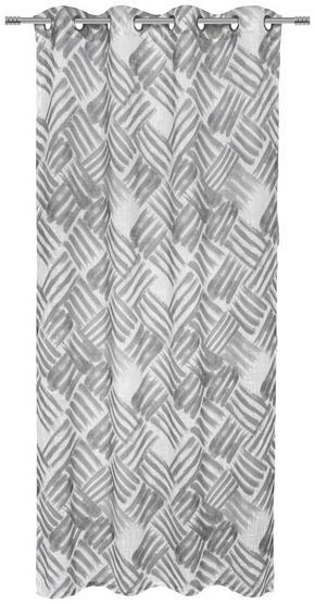 ÖLJETTLÄNGD - grå, Design, textil (135/245cm) - Esposa