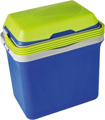 ELEKTROKÜHLBOX - Blau/Weiß, KONVENTIONELL, Kunststoff (38/43/25,6cm)
