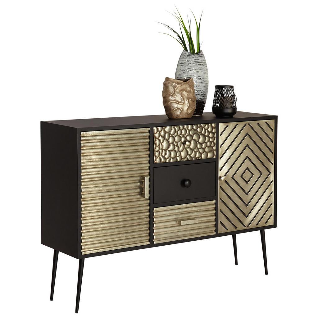 Sideboard im modernen Look mit eleganter Farbkombi