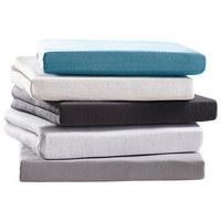 SPANNBETTTUCH Jersey Silberfarben bügelfrei, für Wasserbetten geeignet  - Silberfarben, Basics, Textil (100/200cm) - Boxxx