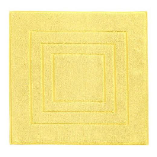 PŘEDLOŽKA KOUPELNOVÁ - žlutá, Basics, textilie (60/60cm) - Vossen