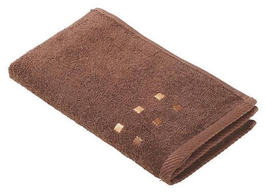 GÄSTETUCH Braun 30/50 cm - Braun, Basics, Textil (30/50cm) - Esposa
