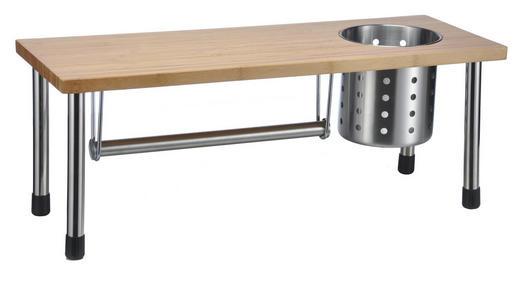 Küchenregal - Hellbraun, Basics, Holz (55/20/20cm)