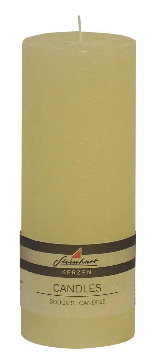 STUMPENKERZE - Champagner, Basics (7,8/20cm) - Ambia Home