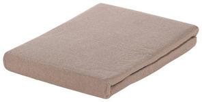 SPANNBETTTUCH Biber Taupe  - Taupe, KONVENTIONELL, Textil (100/200cm) - Esposa