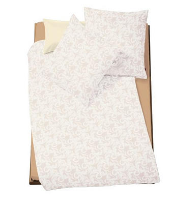 POSTELJNINA BRILLANT - bež, Konvencionalno, tekstil (140/200cm) - Fleuresse
