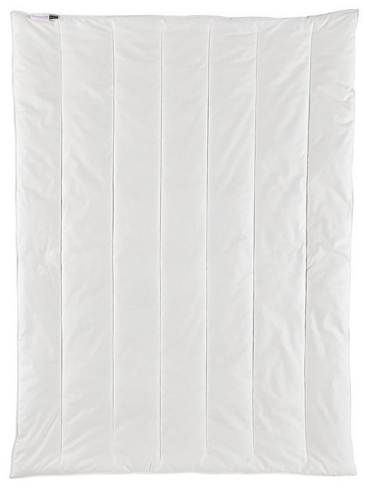 GANZJAHRESBETT  155/220 cm - Weiß, Design, Textil (155/220cm) - Centa-Star
