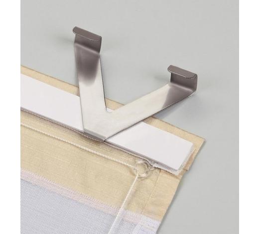 TÜR- UND FENSTERHAKEN - Silberfarben, Basics, Metall (10cm)