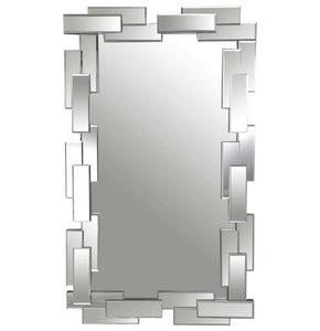OGLEDALO - Dizajnerski, Staklo/Pločasti materijal (119/71/3,9cm) - Xora