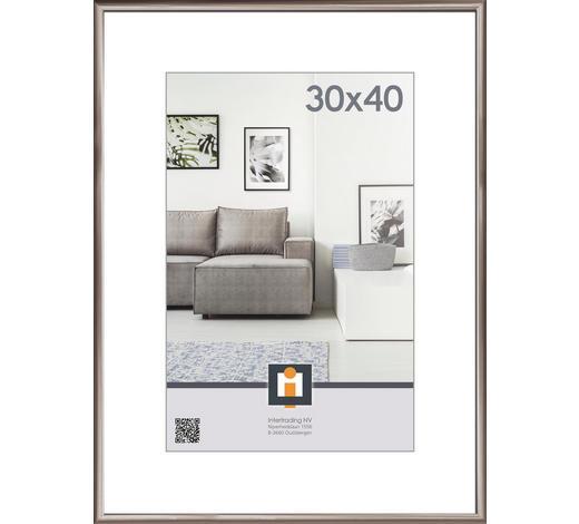 RÁM NA OBRAZY, antracitová - antracitová, Basics, umělá hmota/sklo (30/40cm)