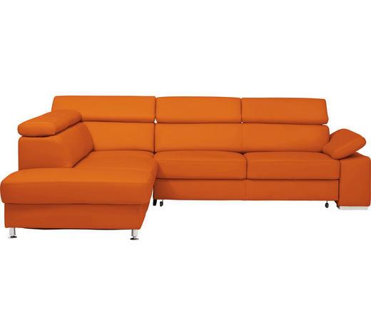 Wohnlandschaft In Leder Orange Online Kaufen Xxxlutz