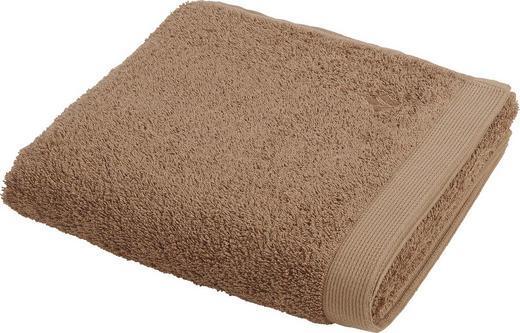 HANDTUCH 50/100 cm - Braun, KONVENTIONELL, Textil (50/100cm) - Vossen