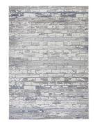 WEBTEPPICH - Türkis, Design, Textil (120/170cm) - Novel