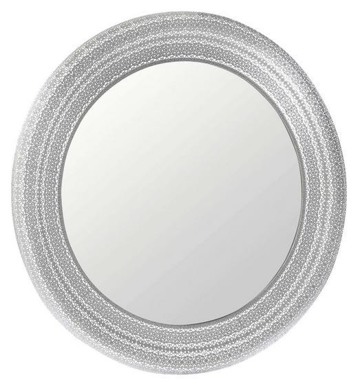 WANDSPIEGEL Silberfarben - Silberfarben, Design, Glas/Metall (100cm) - Ambia Home