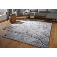 VÄVD MATTA - grå, Design, textil (133/190cm) - Novel
