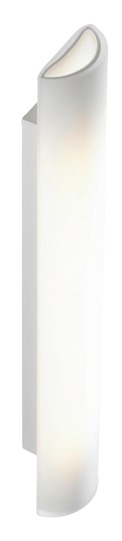 WANDLEUCHTE - Weiß, LIFESTYLE, Metall (54/9/6cm) - Bankamp
