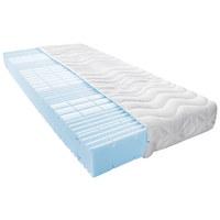 Polyurethanschaumkern MATRATZE 90/200 cm - Weiß, Basics, Textil (90/200cm) - SLEEPTEX