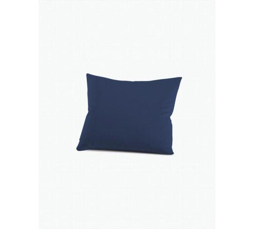 KISSENHÜLLE - Dunkelblau, Basics, Textil (40/60cm) - Schlafgut