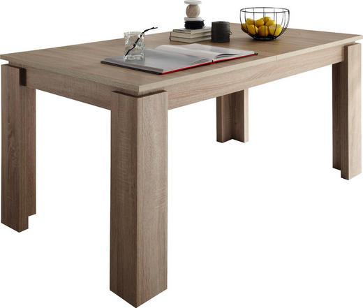ESSTISCH in Holzwerkstoff - Eichefarben, Basics, Holzwerkstoff (160(200)/90/77cm) - Carryhome