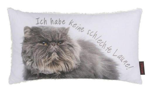 ZIERKISSEN 30/50 cm - Weiß, MODERN, Textil (30/50cm)