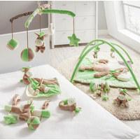 BABYSCHALENMOBILE - Grün, Basics, Kunststoff/Textil (28cm) - My Baby Lou