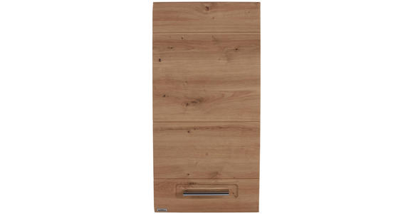 Hängeschrank mit Türdämpfung Avensis B: 35cm, Eiche Dekor - Eichefarben, MODERN, Holzwerkstoff (35/72/20,5cm) - Luca Bessoni