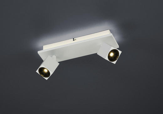 LED-STRAHLER - Weiß, Basics, Metall (30/14/8,5cm)