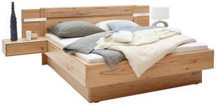 BETTANLAGE Buche massiv 180/200 cm - Buchefarben, KONVENTIONELL, Holz (180/200cm) - Valnatura