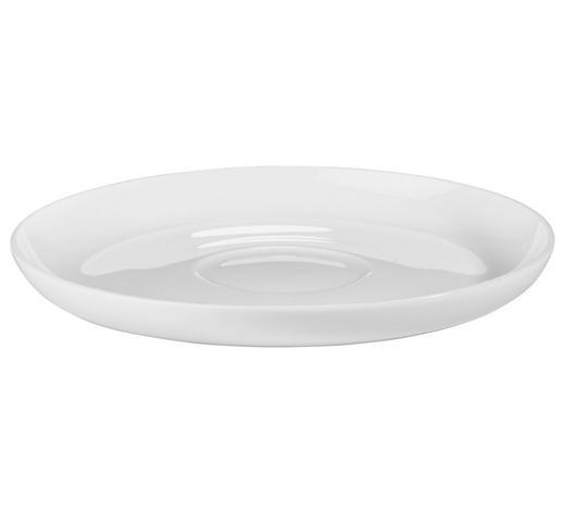 PODŠÁLEK, kostní porcelán (bone china),  - bílá, Basics, keramika (14,5cm) - Novel