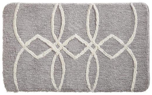 BADEMATTE  Silberfarben  60/100 cm - Silberfarben, Design, Textil (60/100cm) - Esposa