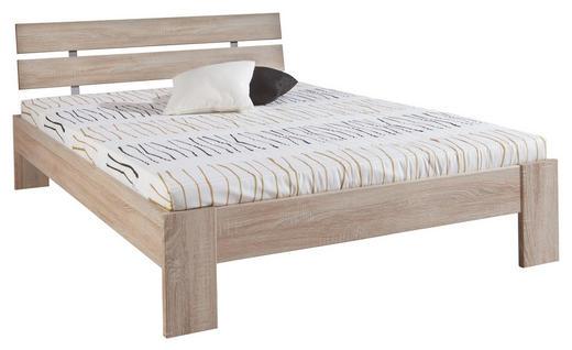 FUTONBETT 140/200 cm - Eichefarben/Sonoma Eiche, Design, Holzwerkstoff (140/200cm) - Carryhome