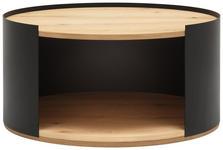 COUCHTISCH in Holz, Metall   - Eichefarben/Anthrazit, Natur, Holz/Kunststoff (80/40/80cm) - Moderano