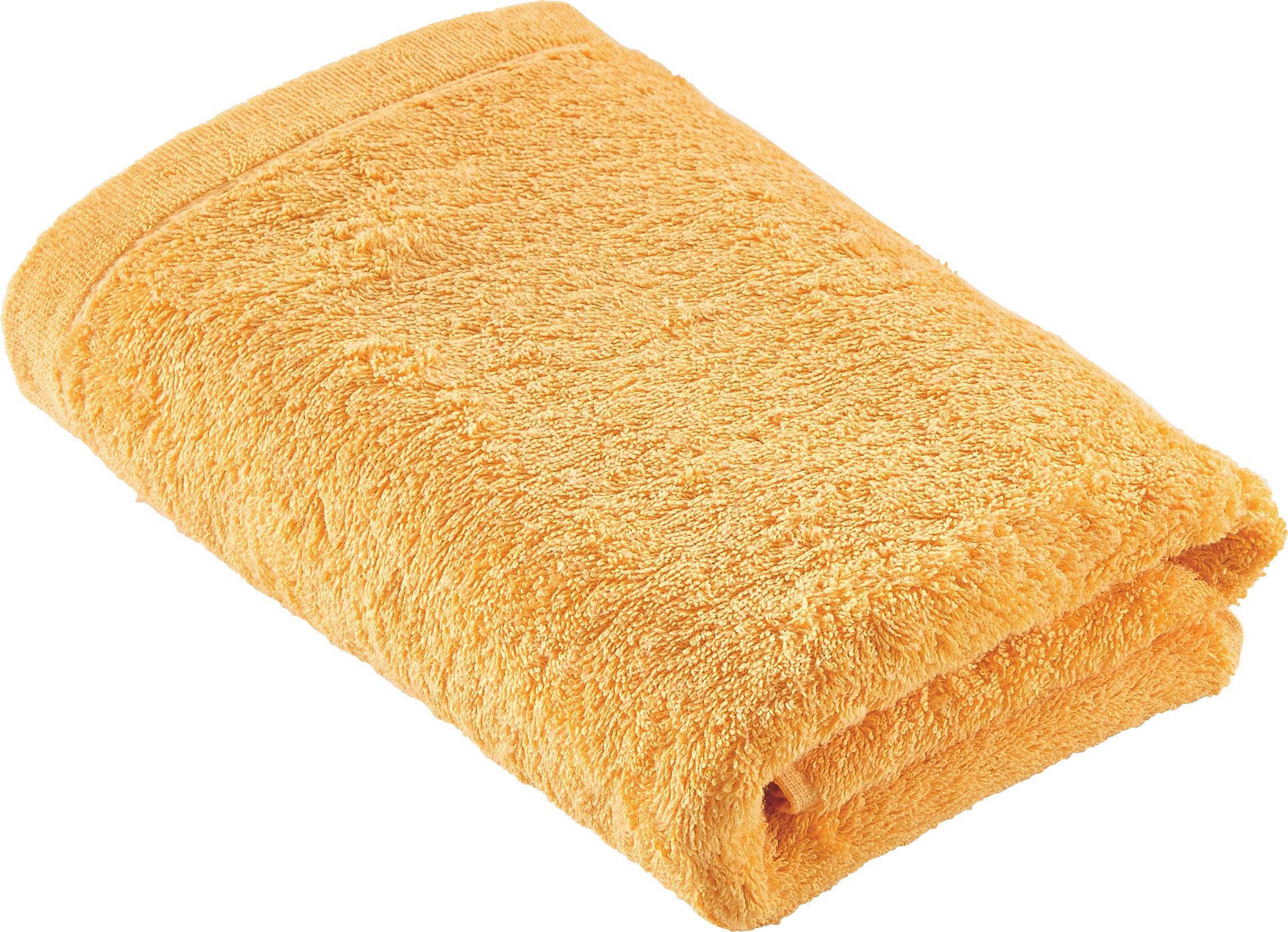 HANDTUCH 50/100 cm - Orange, Basics, Textil (50/100cm) - CAWOE