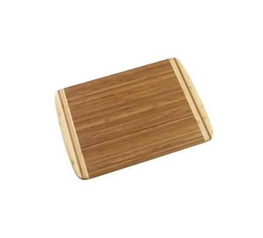 PRKÉNKO NA KRÁJENÍ 40X30CM - tmavě hnědá/přírodní barvy, Basics, dřevo (40/30/1,6cm) - Homeware