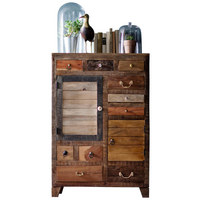 HIGHBOARD 80 120 40 cm - Multicolor, LIFESTYLE, Keramik/Holz (80 120 40cm) - Landscape