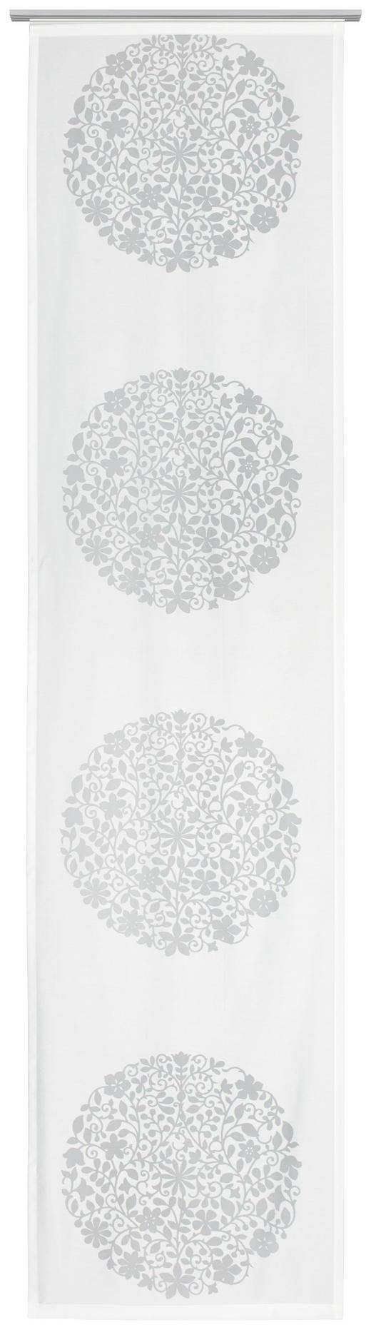 FLÄCHENVORHANG   transparent   60/245 cm - Weiß, Design, Textil (60/245cm) - Novel