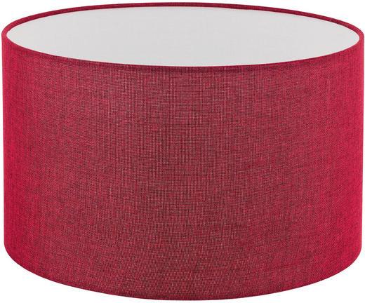 LEUCHTENSCHIRM  Rot  Textil  E27 - Rot, Design, Textil (38/22cm) - Marama