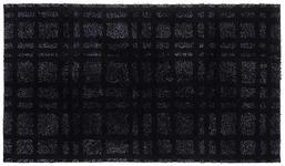 BADEMATTE in Schwarz 70/120 cm  - Schwarz, Basics, Kunststoff/Textil (70/120cm) - Ambiente