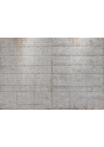 TAPETA CONCRETE BLOCKS, 8-938 - siva, Basics, papir (368/254cm)