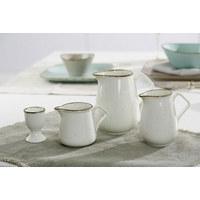 EIERBECHER Keramik Steinzeug  - Creme/Braun, Keramik (12/9/7cm) - Ritzenhoff Breker