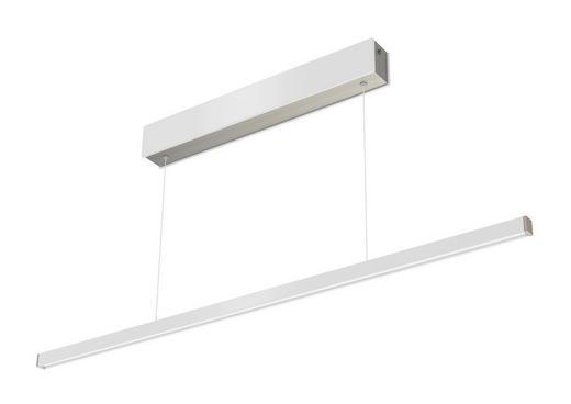 LED-HÄNGELEUCHTE - Weiß, Design, Kunststoff (150/23/20cm)